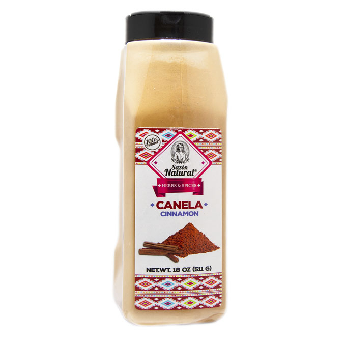 Canela Molida 511 g Sazon Natural