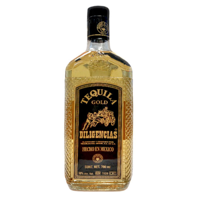 Tequila Gold 700ml 700 ml Diligencias