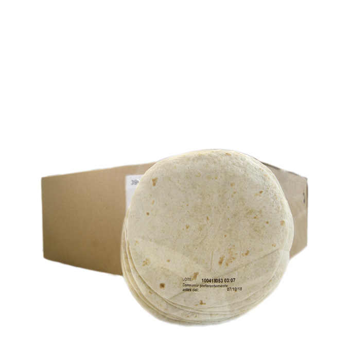 Tortilla de Trigo 12cm (10uds) 180 g AT