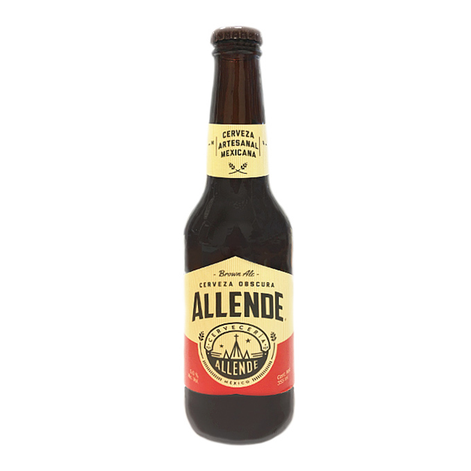 Cerveza Allende Brown 355ml 355 ml Allende